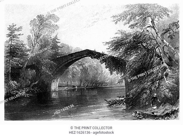 The Bridge of Doon, Ayrshire, 1838