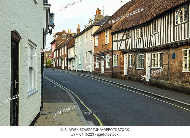 Late summer evening in Petersfield, Hampshire, England