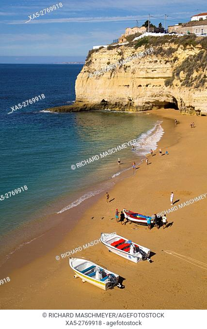 Carvoeiro Beach, Lagoa, Algarve, Portugal