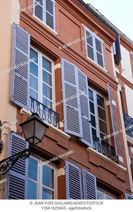 Rue du Taur in Toulouse, France