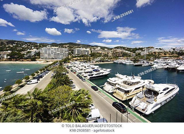 Puerto Portals, Calvia, Mallorca, Balearic Islands, Spain