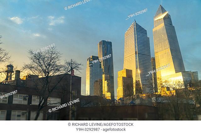 New York NY/USA-January 24, 2019 10 Hudson Yards development in New York on Thursday, January 24, 2019. (© Richard B. Levine)