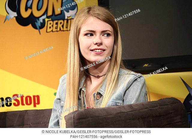 Addy Miller at the 3rd German Comic Con Munich in the Zenith. Munich, 15.06.2019 | usage worldwide. - Munich/Bayern/Deutschland