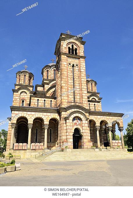 Church of St Mark, Belgrade, Serbia