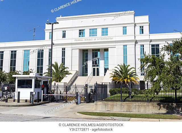 The Federal Bureau of Investigation (FBI) Field Office in Mobile, Alabama
