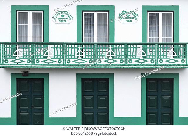 Portugal, Azores, Terceira Island, Altares, Altares Imperio chapel