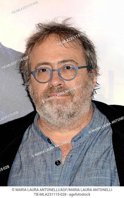 The director Jaco Van Dormael during the photo call of movie Le tout Noveau Testament, Rome, ITALY-23-11-2015