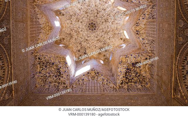 Ceiling decorations in the Alhambra
