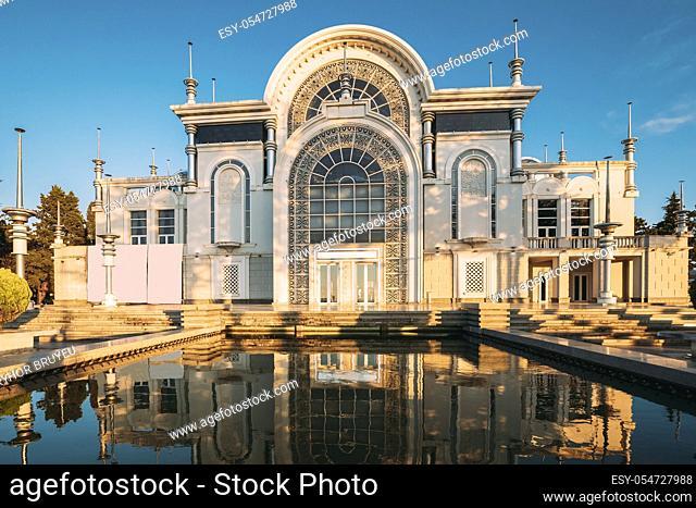 Batumi, Adjara, Georgia. State Musical Center Include Batumi State Symphony Orchestra And Cappella, Ballet Troup Of State Theatre Of Batumi Opera And Ballet