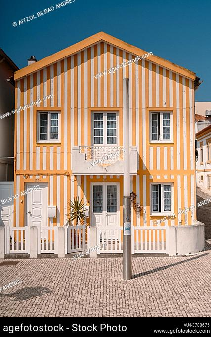 Aveiro is the second most populous city in the Centro Region of Portugal. In this picture ew can see the Bairro dos Pescadores neighbourhood