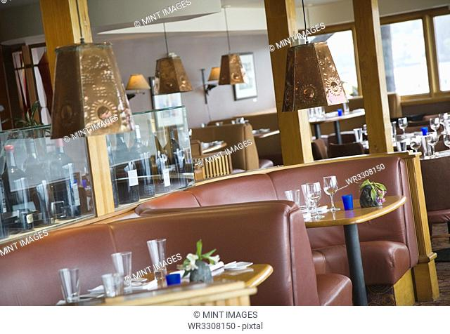 Rounded Restaurant Booths