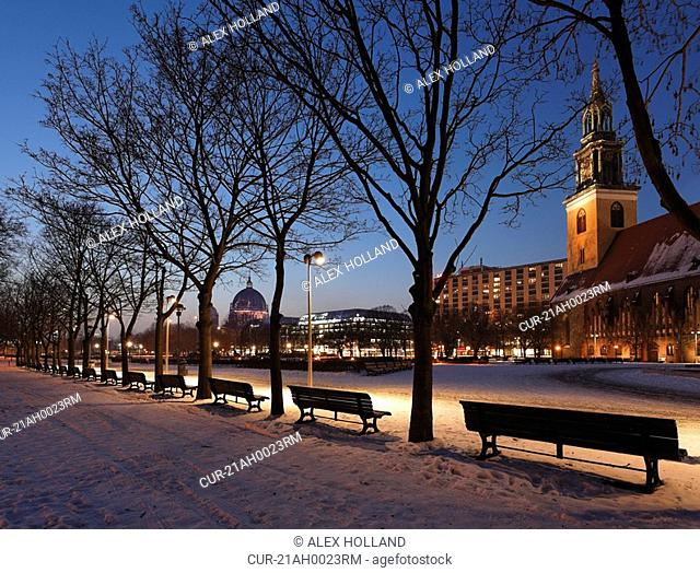 St Mary's Church and Berlin Cathedral