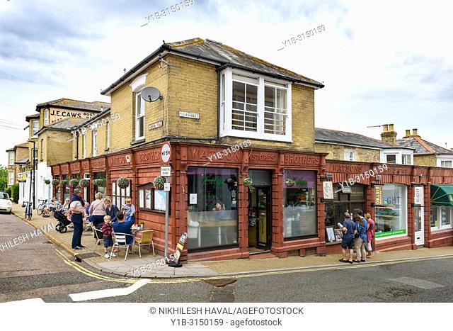 Seaview High street, Isle of Wight, UK