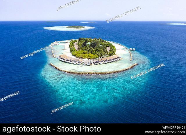 Vacation Island Kuda Rah, Ari Atoll, Indian Ocean, Maldives