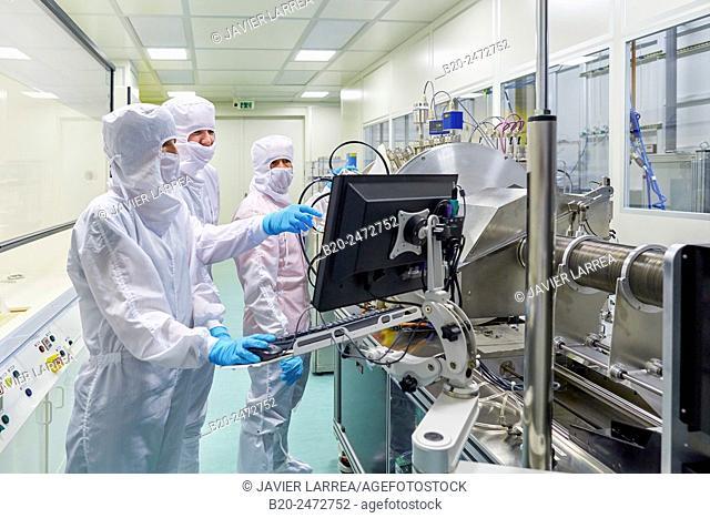 4 wave Ion miller system. Cleanroom. Nanotechnology. Laboratory. CIC nanoGUNE Nano science Cooperative Research Center. Donostia. San Sebastian