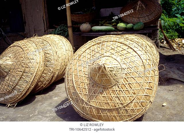 japi hats garamur majuli assam india