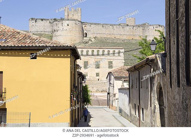 Berlanga de Duero, Soria, Castile-leon, in the Spanish meseta