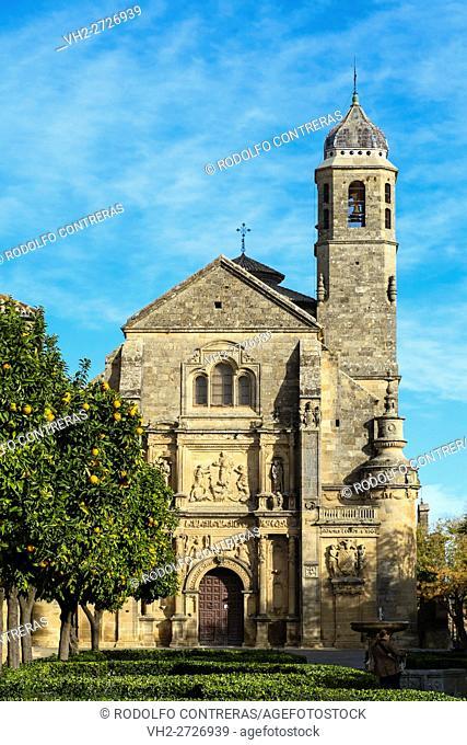 Sacred Chapel of the Salvador, Ubeda, Jaen