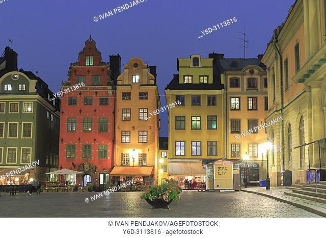 The Old Town at Dusk, Stockholm, Sweden