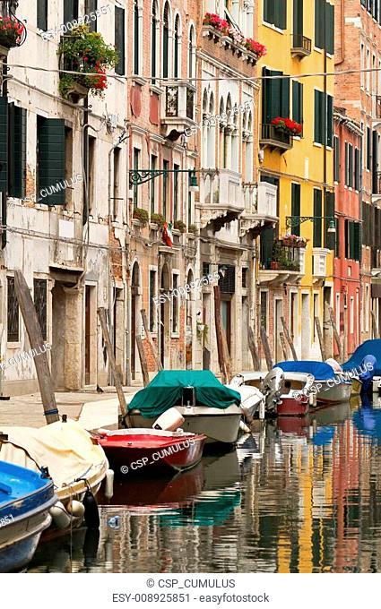 Typical Venice neighbourhood