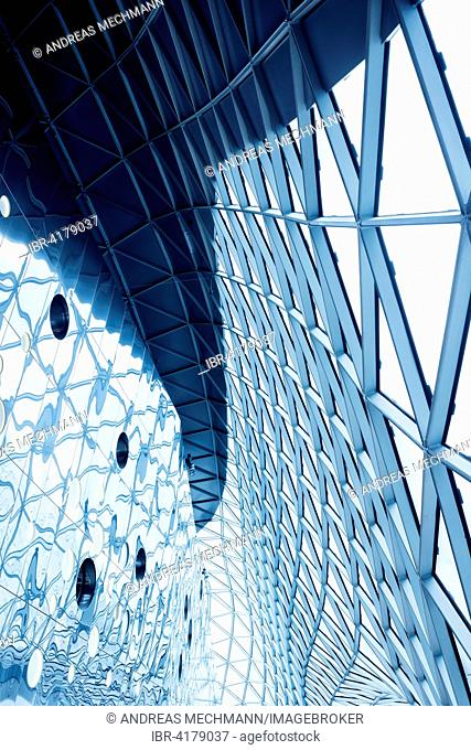 Roof design, MyZeil shopping centre, Frankfurt am Main, Hesse, Germany