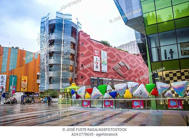 China, Jiangsu, Nanjin City, Jiankang Road, Shopping area