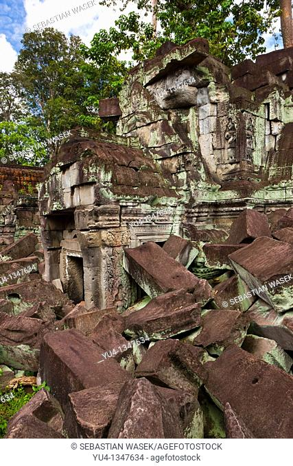 Preah Khan (Sacred Sword), Angkor, UNESCO World Heritage Site, Cambodia, Indochina, Southeast Asia, Asia