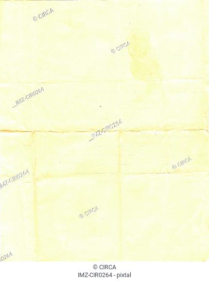 lined folded paper