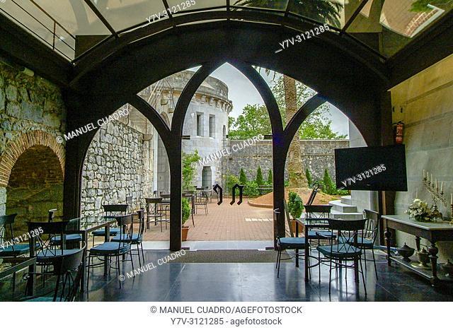 Celebration Hall. Castillo de Arteaga. Arteaga, Biscay, Basque Country, Spain