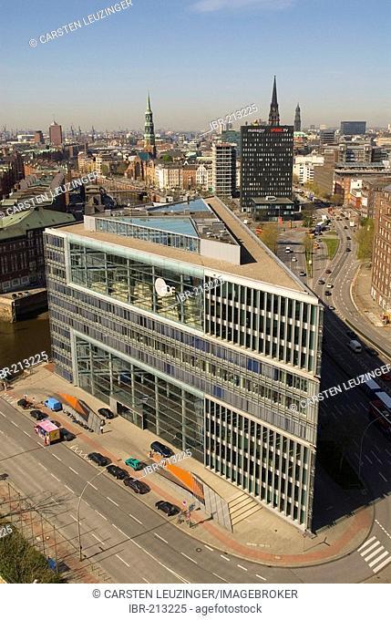 Deichtorcenter, modern office building in Hamburg, Germany