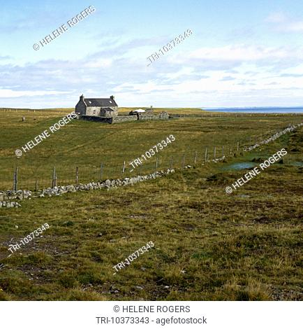 Foula Shetlands Scotland Croft