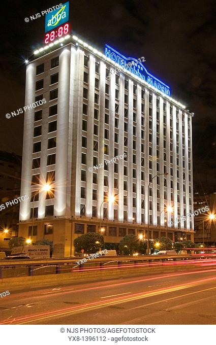 Abba Hotel, America Avenue, Madrid, Comunidad de Madrid, Spain, Europe