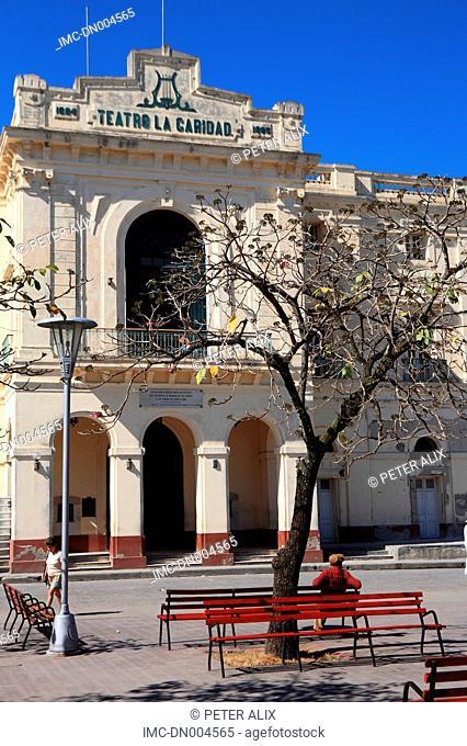 Cuba, Santa Clara, Teatro de la Caridad