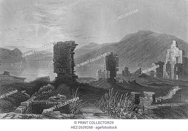 'View of the Ruins of Fort Ticonderoga', 1859. Artist: Thomas Abiel Prior
