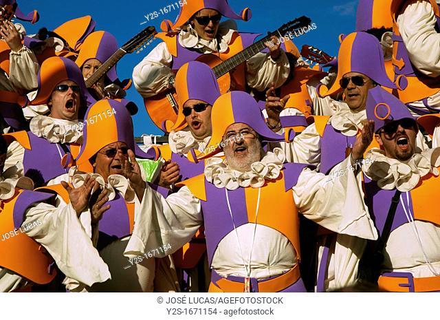 Carnival, Choir 'Periquituliqui', Cadiz, Spain