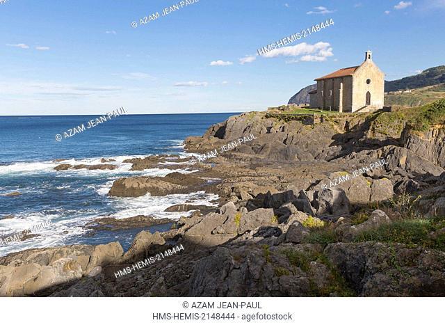 Spain, Vizcaya Province, Basque Country, Mundaka