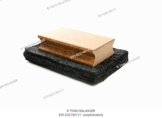 Chalkboard cleaner sponge for blackboard chalk