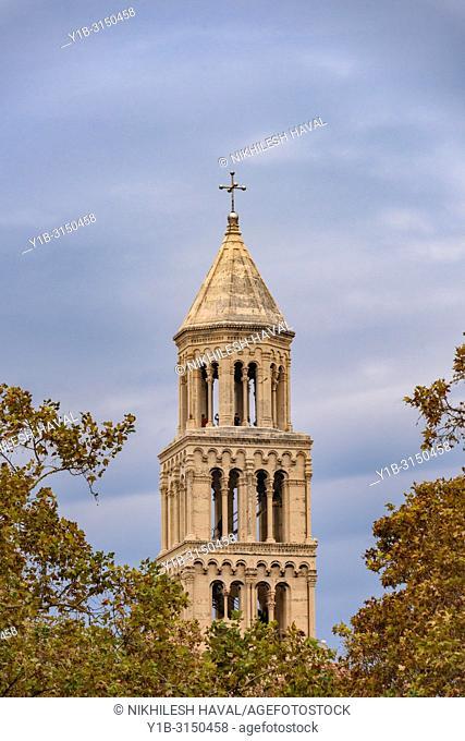 Top of Bell Tower of St. Domnius, Split, Croatia