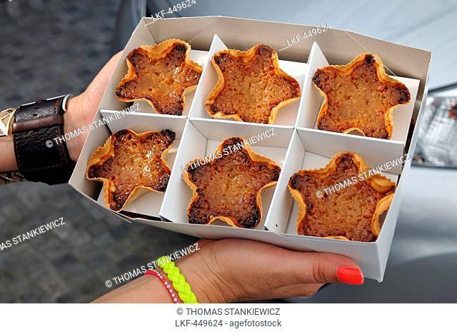 Cheesecake, Queiadas das Graciosa, Praia, Island of Graciosa, Azores, Portugal