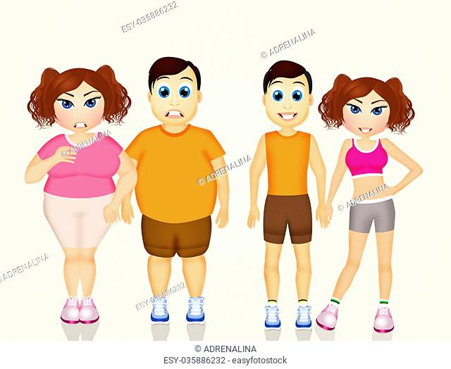 obese couple before and after diet