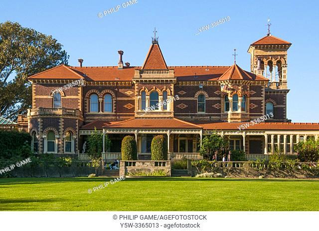 Rippon Lea is an historic 19th-century estate in Elsternwick, a southeastern suburb of Melbourne, Victoria, Australia
