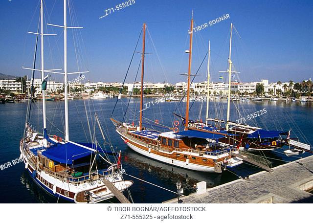 Kos town. Kos Island. Dodecanese. Greece