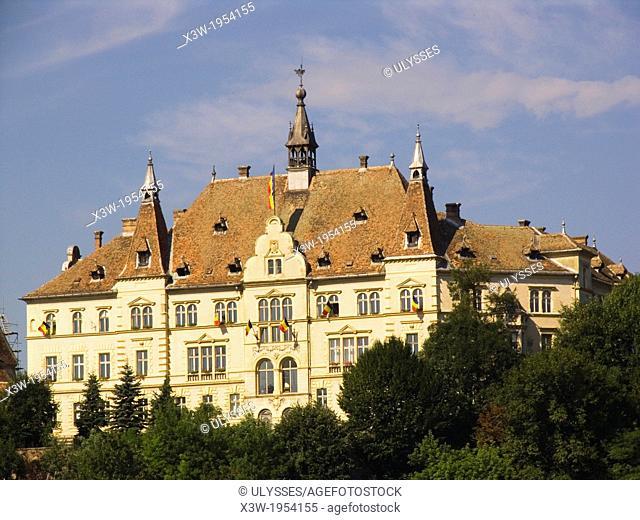 europe, romania, transylvania, sighisoara, citadel
