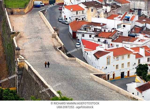 Elvas, World Heritage of UNESCO, fortified between the 17th and 19th century, Alentejo, Portugal