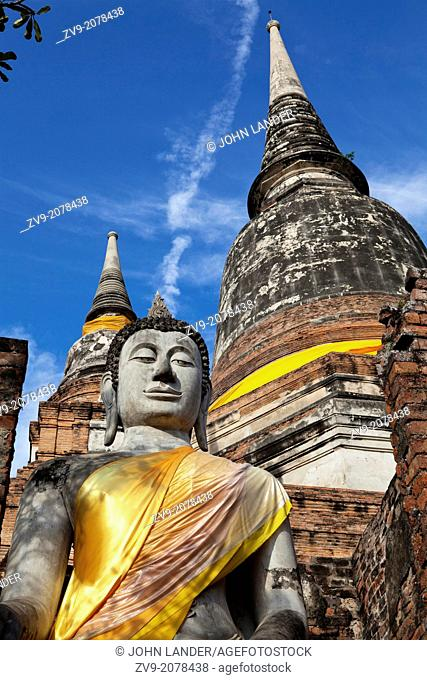 """Wat Yai Chai Mongkhon or the """"""""Great Monastery of Auspicious Victory"""""""" is in Ayutthaya Tambon Phai Ling. In the past this temple was known by other names: Wat..."""