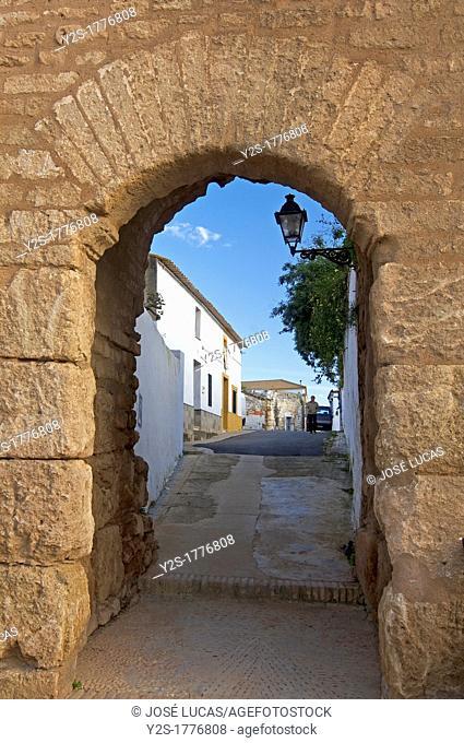 Walls Door of the Agujero, Niebla, Huelva-province, Spain
