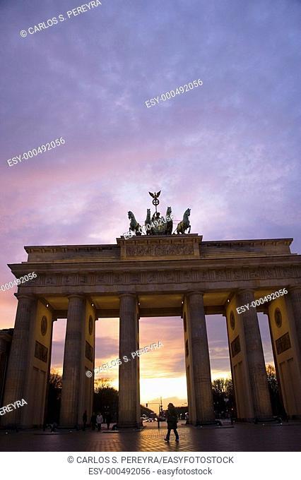 Brandeburg Gate, Berlin, Germany, Europe