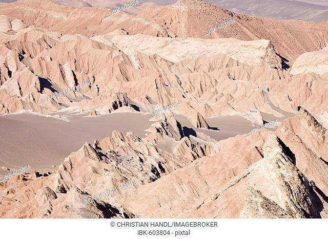 Valle de la Muerte (Death Valley or sometimes called Martian Valley), San Pedro de Atacama, Región de Antofagasta, Chile, South America