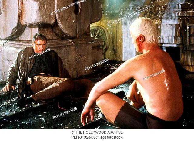 Harrison Ford, Rutger Hauer, 'Blade Runner' 1982