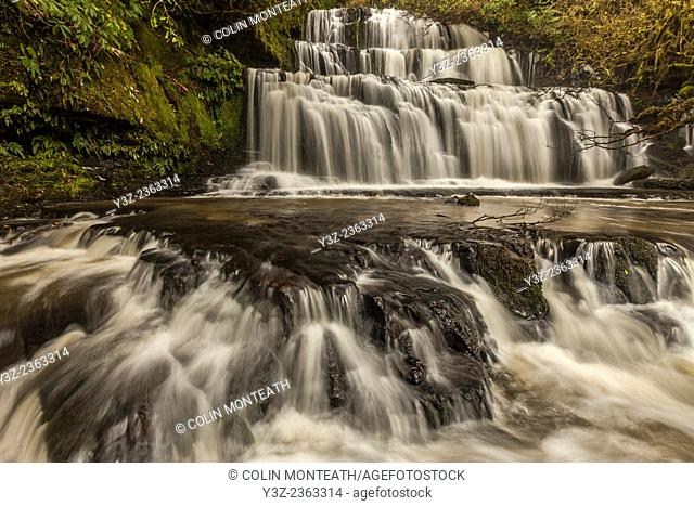 Purakanui falls, The catlins, Southland, New Zealand